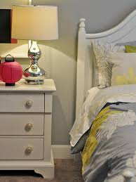 Yellow And Grey Room Yellowd Gray Bedroom Romantic Grey With White Floral Home Decor