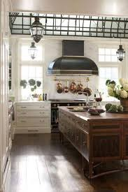 kitchen theme ideas french kitchen with large island and black