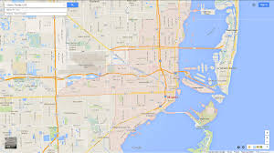 Homestead Fl Map Miami Florida Map