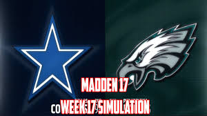 Dallas Cowboys Flags And Banners Madden 17 Week 17 Dallas Cowboys Vs Philadelphia Eagles Cowboys