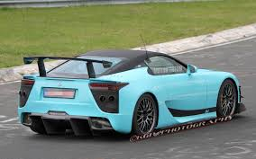 lexus lfa model code caught modified lexus lfa tester laps the u0027ring possible tokyo