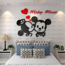 Mickey Home Decor Get Cheap Wall Sticker Mickey Aliexpress