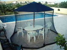 Patio Umbrella With Screen Enclosure Nicamaka 12 Umbrella Screen Enclosure Mosquito Net Usa Mosquito