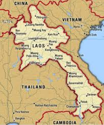 Map Of Laos Macv Sog A Unit Of Modern Forces Living History Group