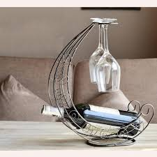art decorative bar drink supply iron handcraft wine rack euro
