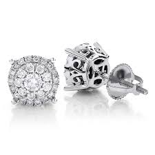 diamond studs for men yellow gold diamond stud earrings more than just heart studs cost