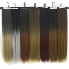 Hair Extension Clip Ins Cheap by Online Get Cheap 20 Inch Synthetic Hair Extensions Aliexpress Com
