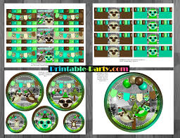birthday party supplies printable sloth party supplies sloth birthday decorations