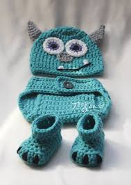 25 monsters crochet ideas baby mike
