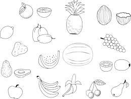 coloriage fruits à imprimer