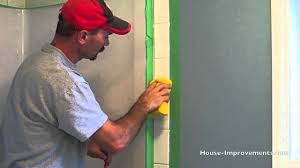 How To Regrout Bathroom Tile How To Grout Wall Tiles Youtube
