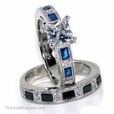 thin line wedding ring 47 best thin blue line collection images on thin blue