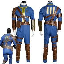 fallout vault jumpsuit fallout 4 fo nate costume vault 111 jumpsuit