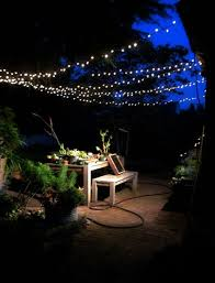 Outdoor Hanging String Lights Hanging String Lights Outdoors