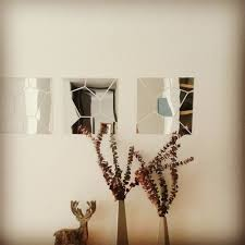 Mirrors For Walls by Compare Prices On Geometric Wall Mirror Online Shopping Buy Low