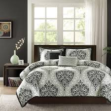 California King Black Comforter Bed U0026 Bedding Blue Black And Ivory Block Pattern California King