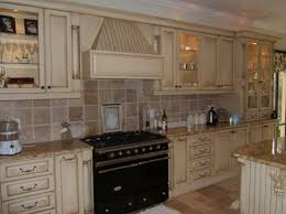 kitchen rustic kitchen backsplash with tile decor and copper