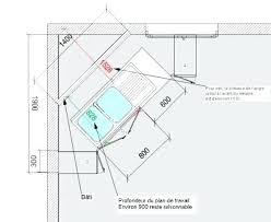 plan implantation cuisine dimension plan de travail related post dimension plan de travail