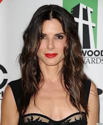 hot haircut for 50 year old men sandra bullock brown hair with highlights hairstyle