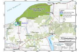 Map Of Upper Michigan by Exploratory Drilling Begins For Copper Mine Under Porcupine