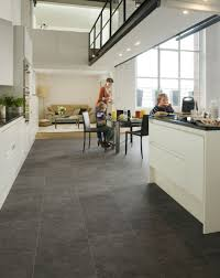 Granite Effect Laminate Flooring Step Exquisa Slate Dark Exq1552 Tile Effect Laminate Flooring