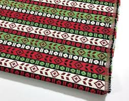 Striped Home Decor Fabric Ethnic Upholstery Fabric Kilim Fabric Aztec Striped Home Decor