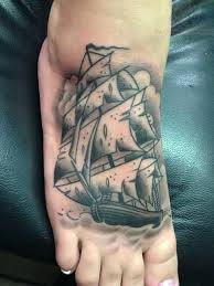 elegant small pirate ship tattoo home decor fabulous grey ink for