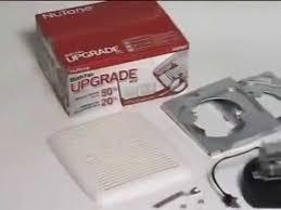 broan nutone replacement fan motor kits broan nutone ventilation fan upgrade kit youtube