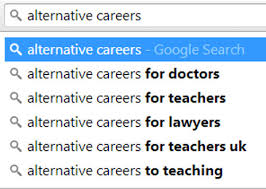 alternative jobs for journalists considering other careers the dangers of alternative careers lists for doctors dr evgenia