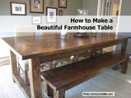 Farmhouse Dining Table With Bench Foter - Farmhouse kitchen table