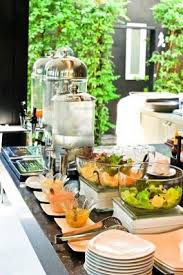 Breakfast Buffet Manchester Nh by Salad And Beverage Station Decor Details Pinterest Beverage