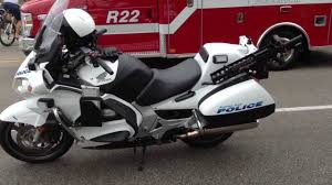 future honda motorcycles police motorcycle honda st1300 youtube