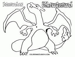 coloring pages pokemon free coloring 236139 charizard