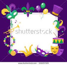 mardi gras frames mardi gras parade vector illustration free vector