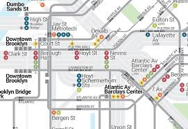 a map nyc there are free transfers between the york subway and the