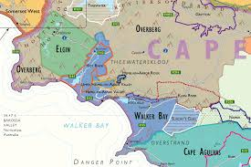 a picture of south africa map wine map of south africa
