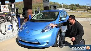 nissan leaf reviews nissan leaf price photos and specs car 2011 nissan leaf test drive u0026 electric car review youtube