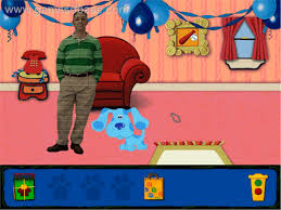 blue clues blue birthday adventure humongous entertainment blue