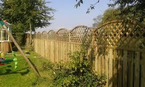 garden development beverley fencing garden colourpages