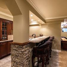 basement ideas for basement walls stacked stone wall decorating