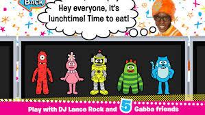 yo gabba gabba party tummy app review watch child
