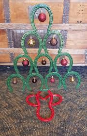 horseshoe ornaments 85 best x trees images on horseshoe horseshoe