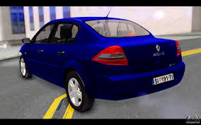 renault megane 2004 blue renault megane sedan for gta san andreas