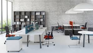 bureau paysager bureau moderne alpha avec piétement chevalet très économique