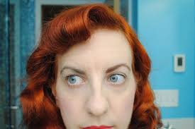 dying red hair light brown my new trick to transforming naturally dark eyebrows to match dyed
