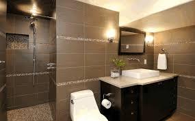 glass tiles bathroom ideas brown tile bathroom