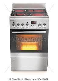poele electrique cuisine poêle électrique isolé fond blanc cuisine 3d illustration de