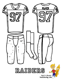 printable images of football uniforms