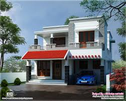 modern house elevation sq feet house design plans story home