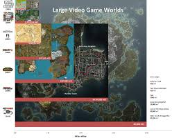 Fallout New Vegas World Map by A Relative Size Comparison Of Game World Maps Fascinating